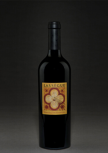 Château Lassègue bottle shot
